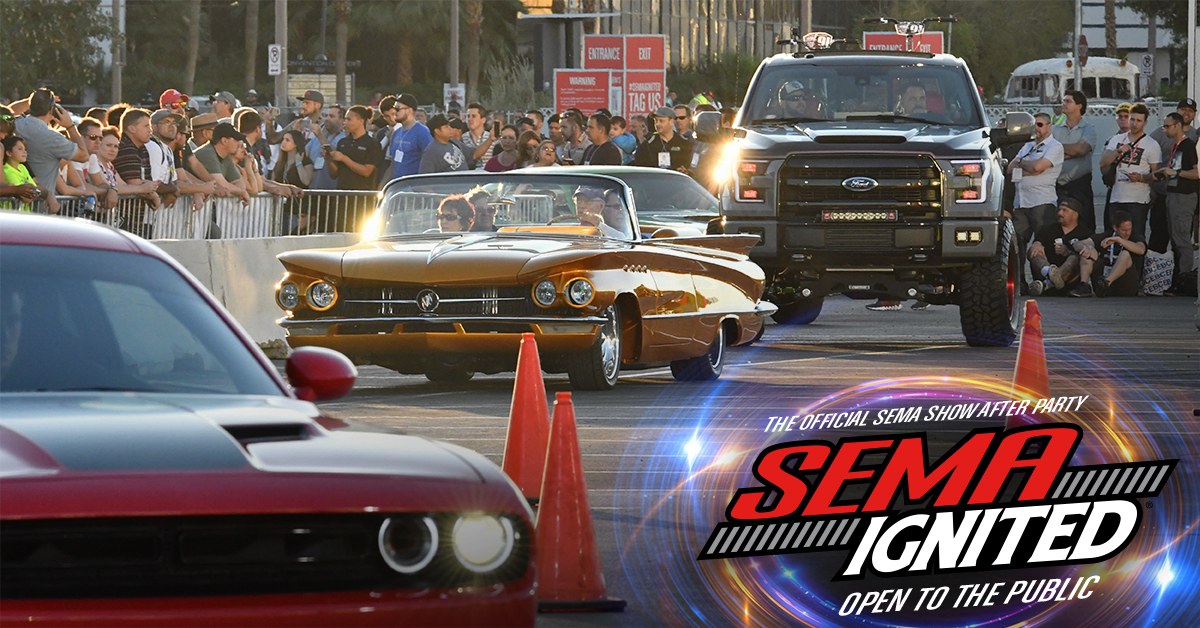 Las Vegas Auto Sales >> SEMA IGNITED 2018 | The Official SEMA Show After Party | Friday November 2nd, 2018