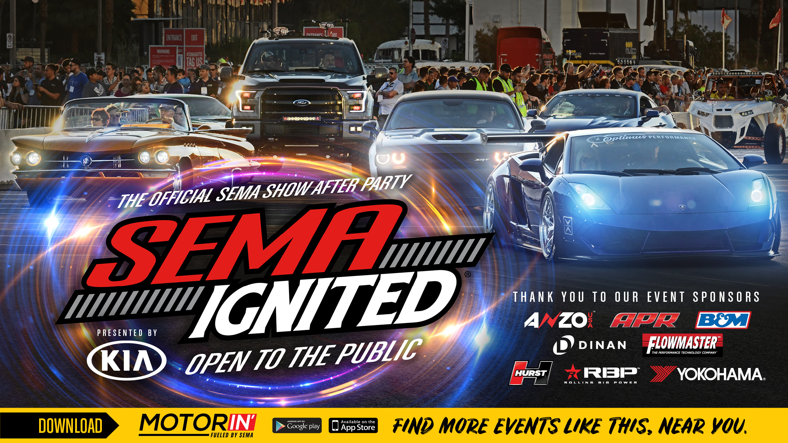 SEMA IGNITED The Official SEMA Show After Party Friday - Vw car show las vegas