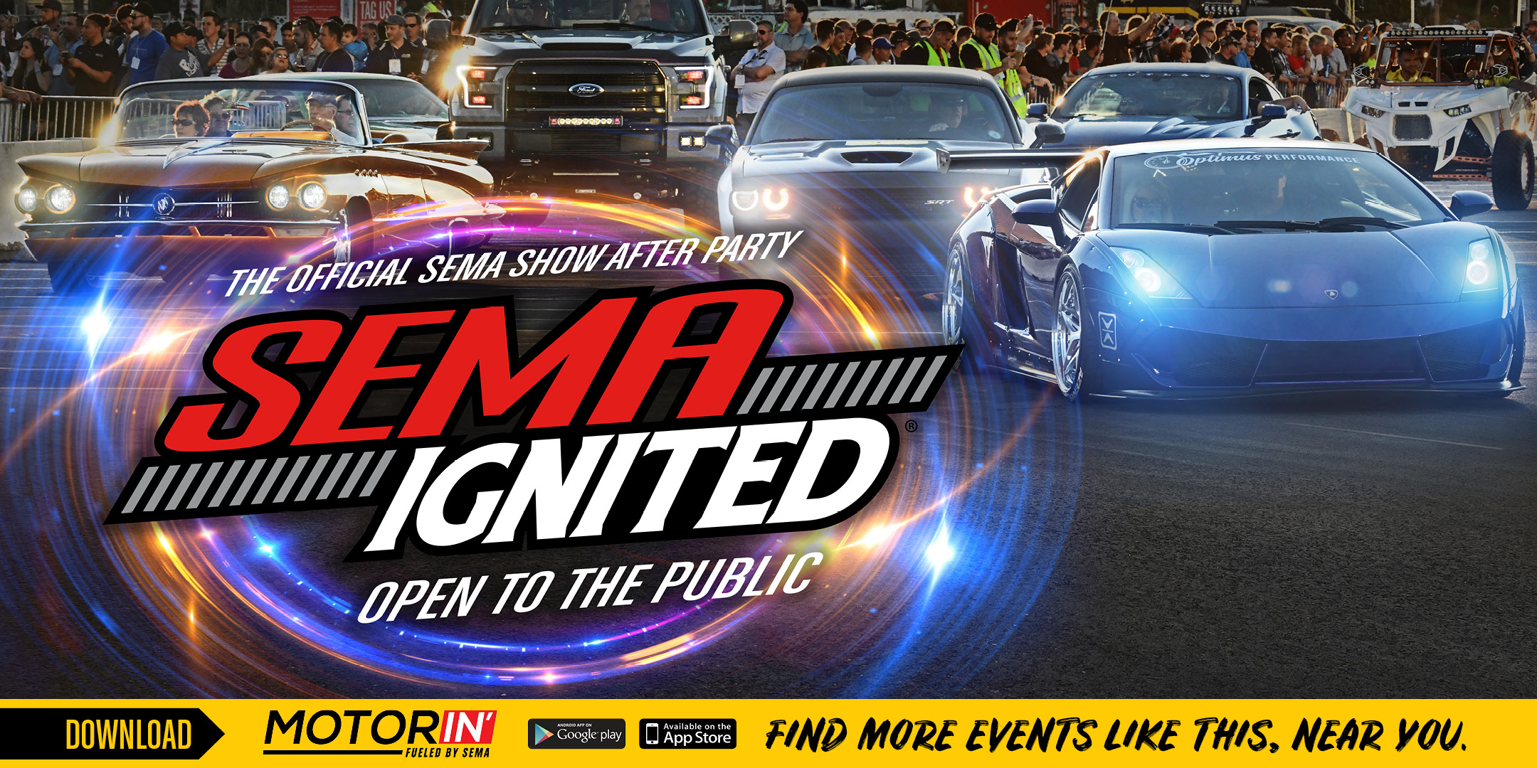 SEMA IGNITED 2019 | The Official SEMA Show After Party