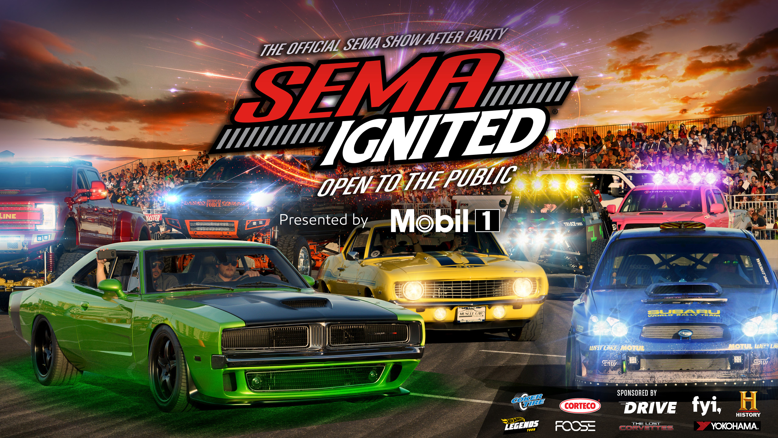 SEMA IGNITED 2020 | The Official SEMA Show After Party