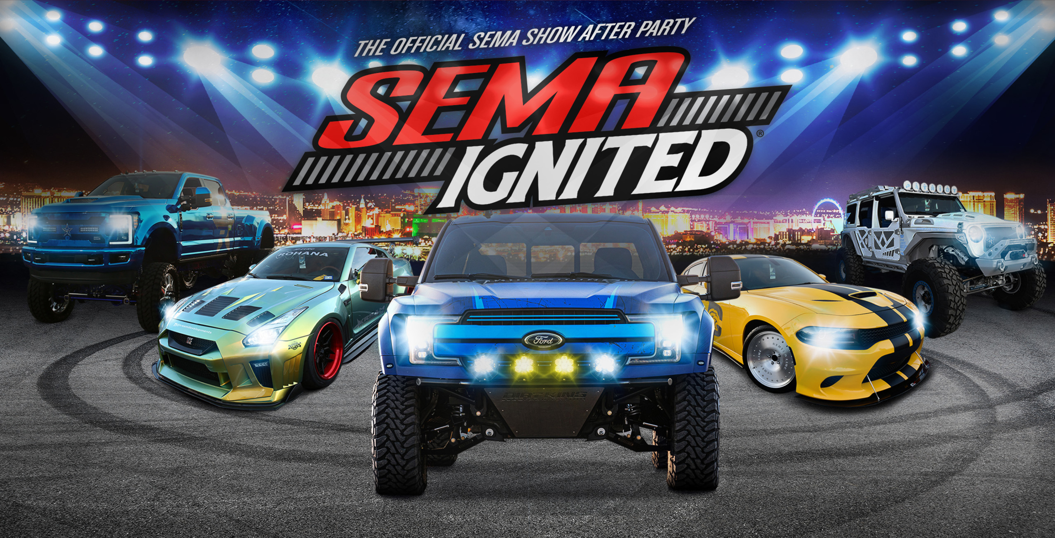 Halloween At Sema 2020 Parties SEMA IGNITED 2020 | The Official SEMA Show After Party | Friday